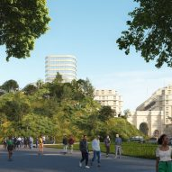 MVRDV to build artificial hill alongside London's Marble Arch