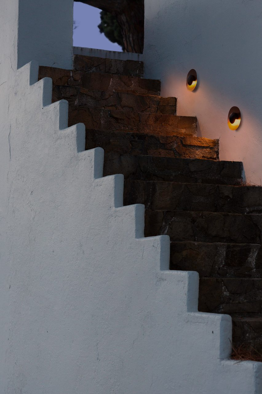Ginger C wall mounted lights by Marset