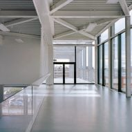 Interior of Melopee School in Ghent by XDGA