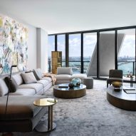Meridiani furnishes One Thousand Museum apartment with Italian-made products