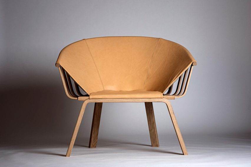Easy chair by Mika Lindblad