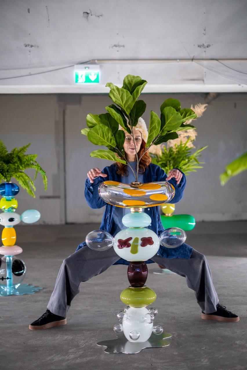 Frida Fjellman at Misschiefs Takeover at Stockholm Design Week