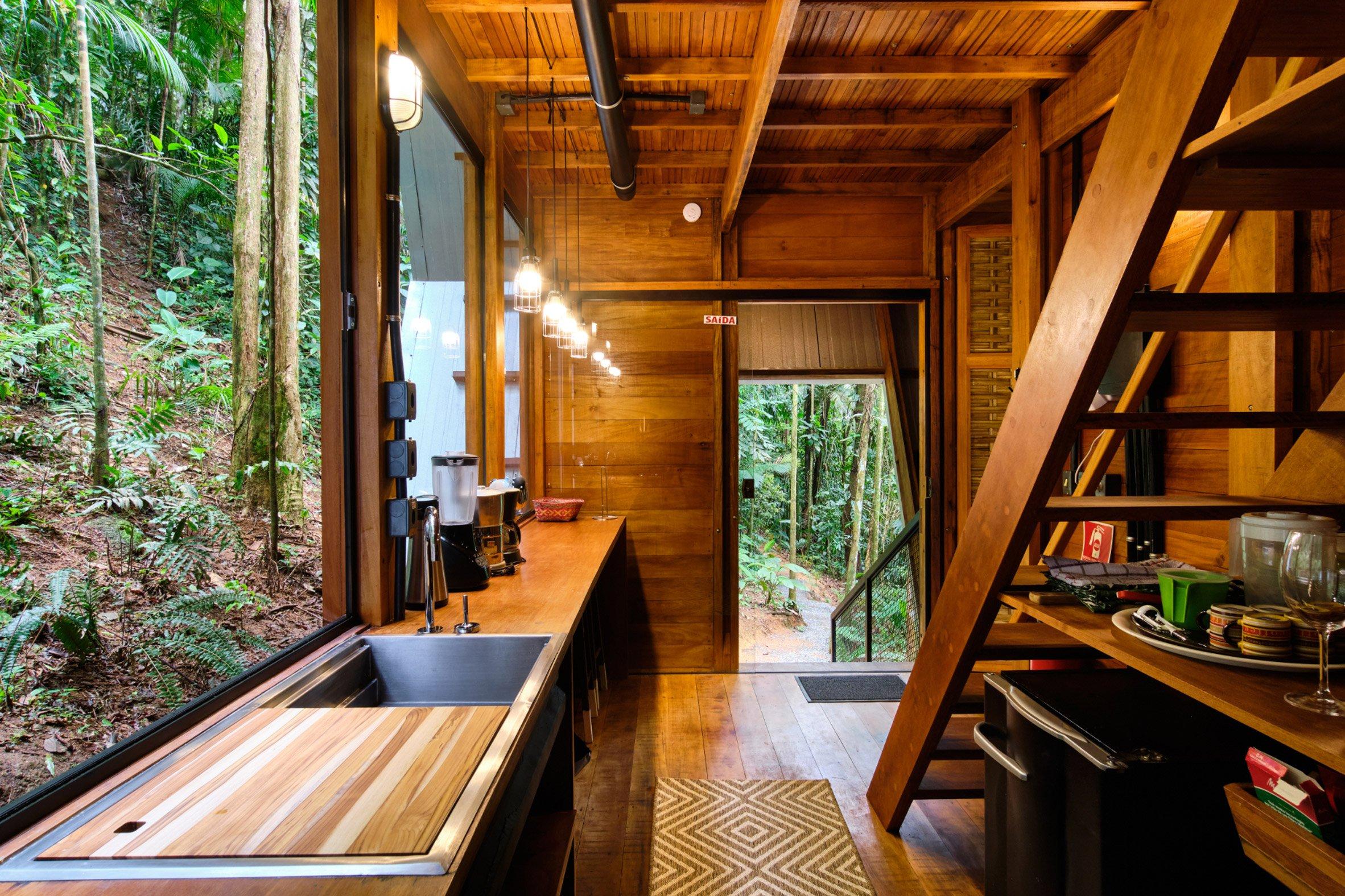 Kitchen of Monkey House by Atelier Marko Brajovic