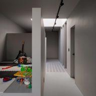 Kids room in greige house