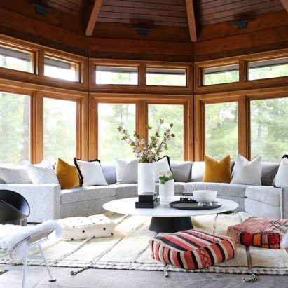 Ali Budd Interiors sunroom