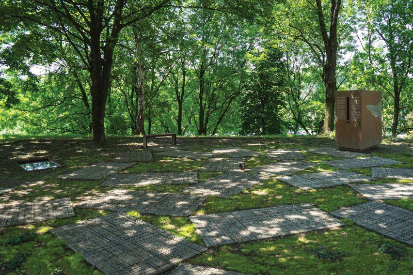 Memorial park in Oświęcim