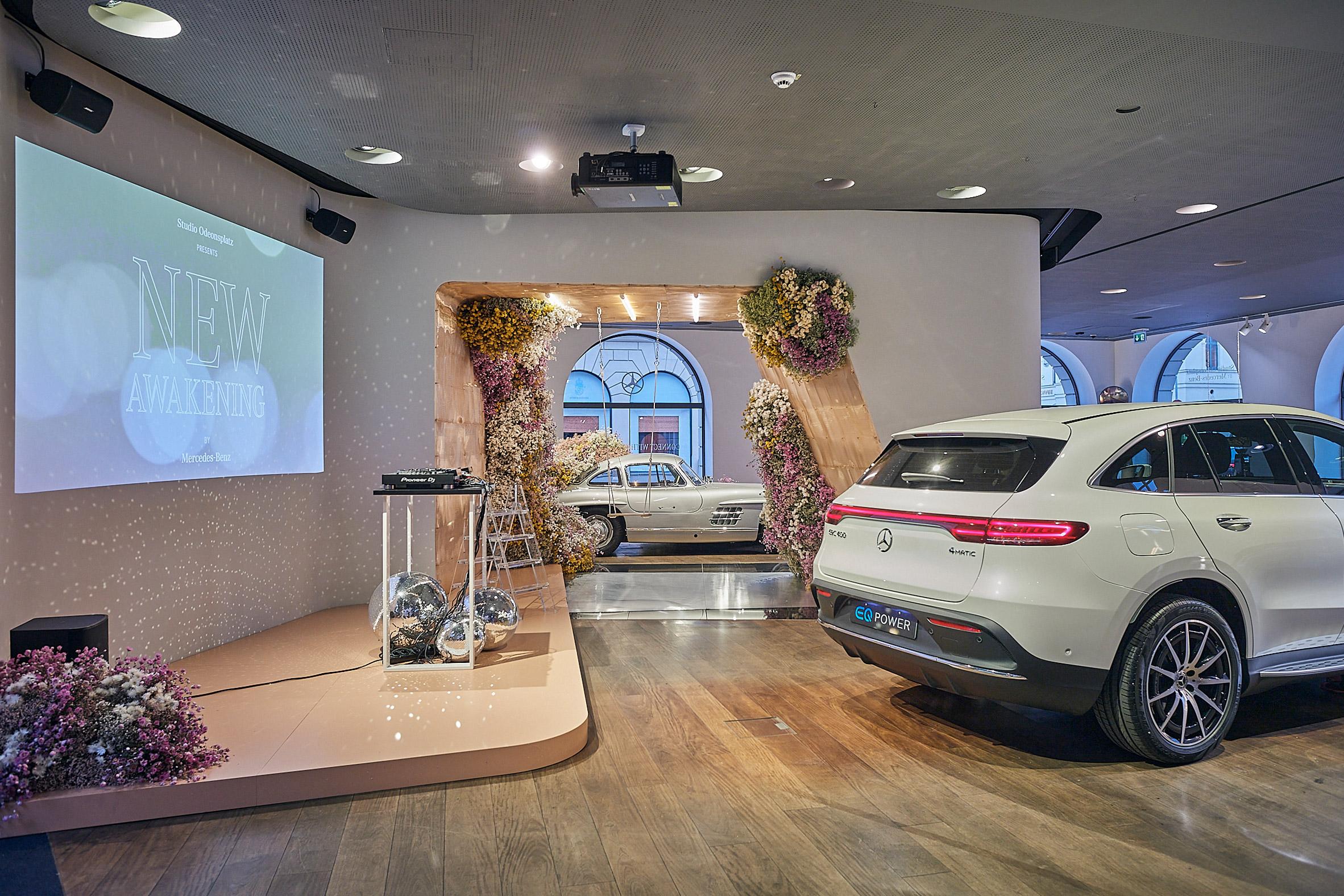 New Awakenings installation at Studio Odeonsplatz