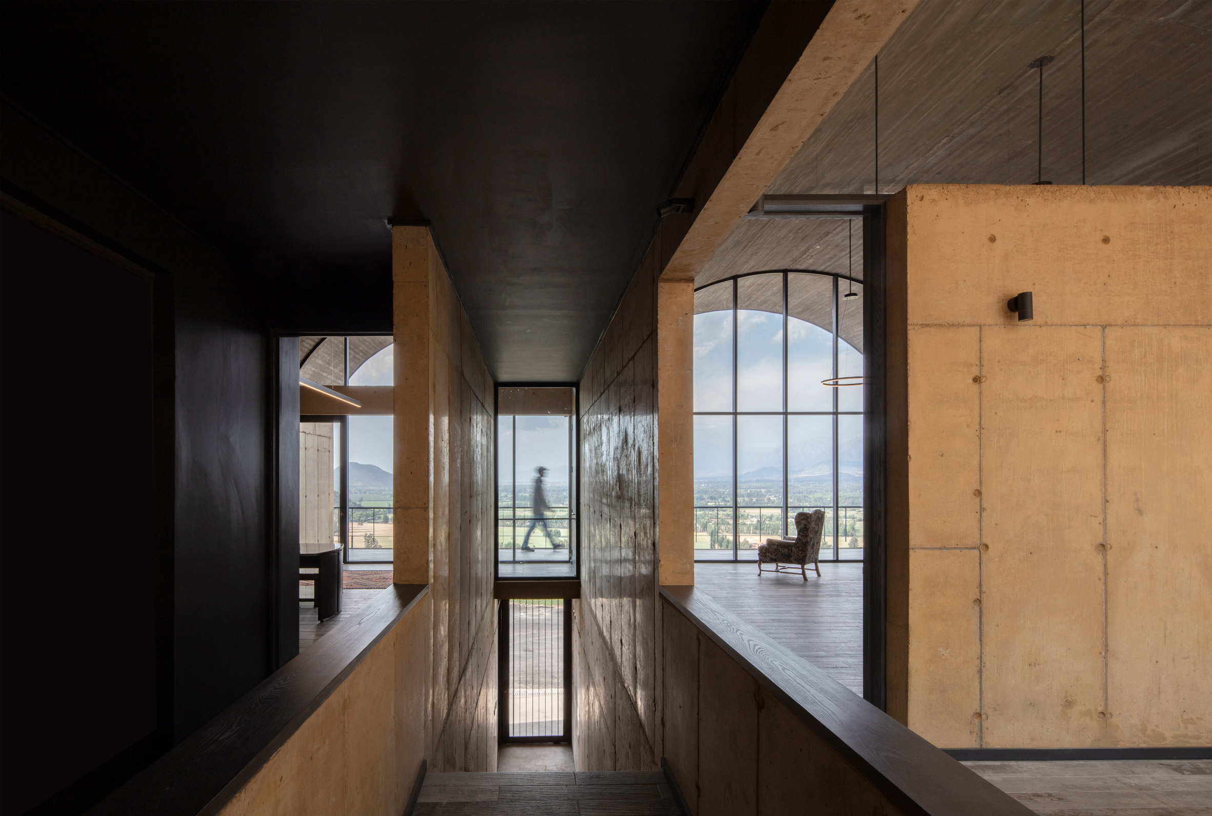 Interiors of OFMA by MAPAA in Chile