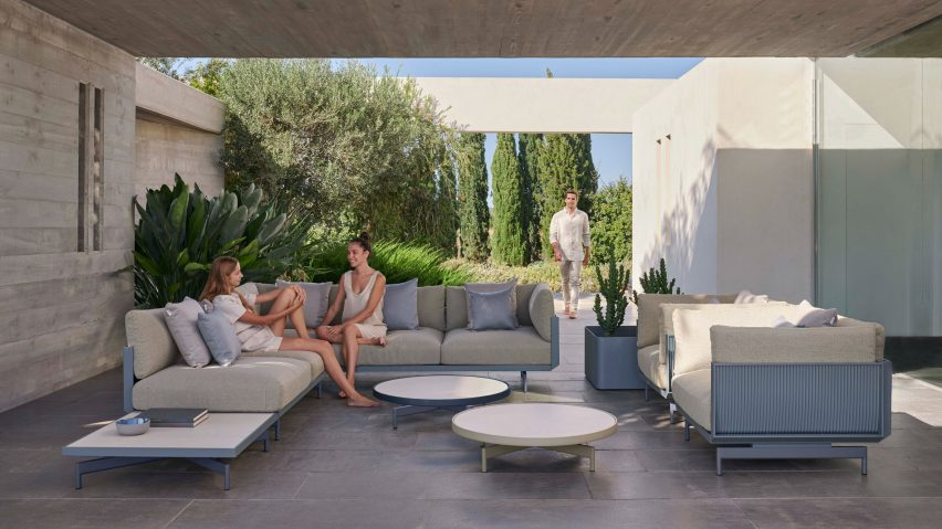 Modular seating by Luca Nichetto for Gandia Blasco
