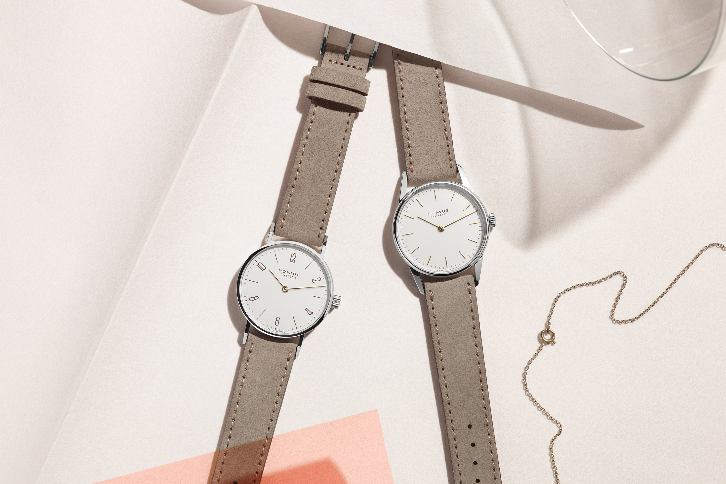Duo watches by Nomos Glarshütte