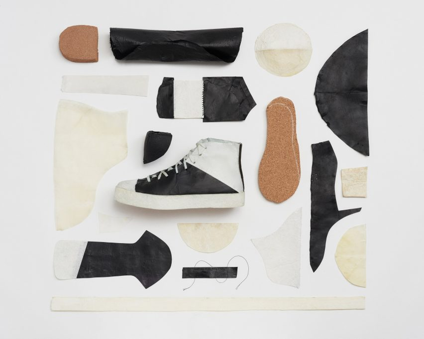 Anatomy of the bio-leather trainers by Public School and Theanne Schiros
