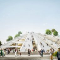Construction begins on MVRDV's Pyramid of Tirana renovation