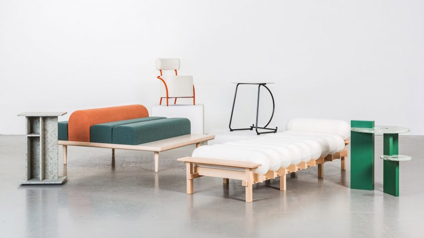 Room Service furniture by Beckmans College of Design