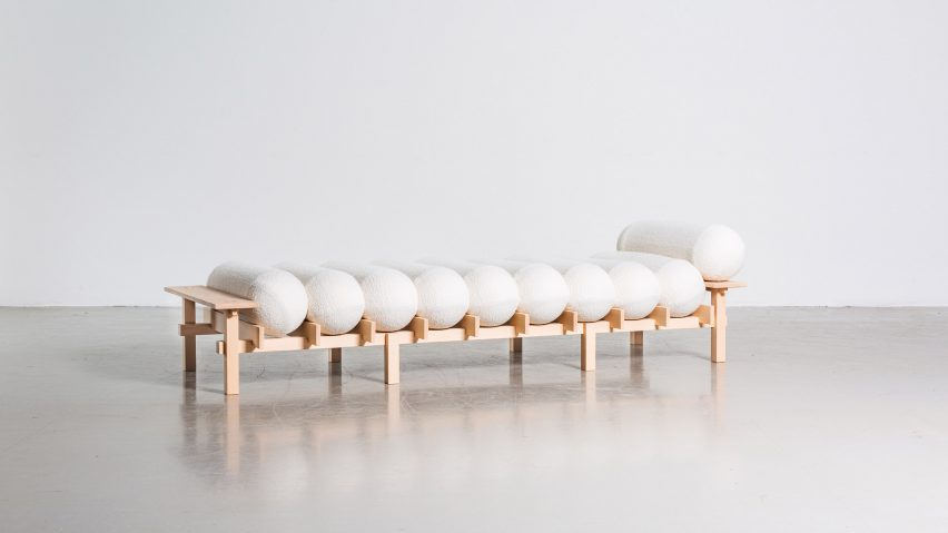 Dag daybed in Room Service work-from-home furniture by Beckmans College of Design