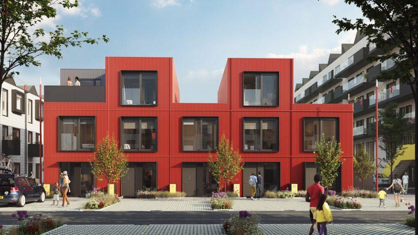 Row House by Urban Splash