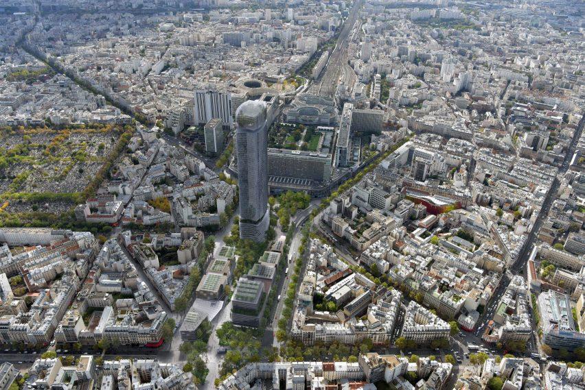 Montparnasse materplan