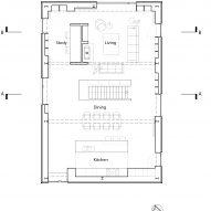 Barn conversion first floor plan