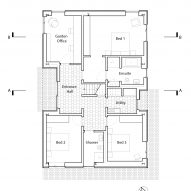 Barn conversion ground floor plan
