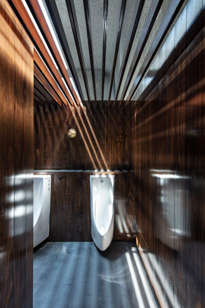 Urinals in Tokyo