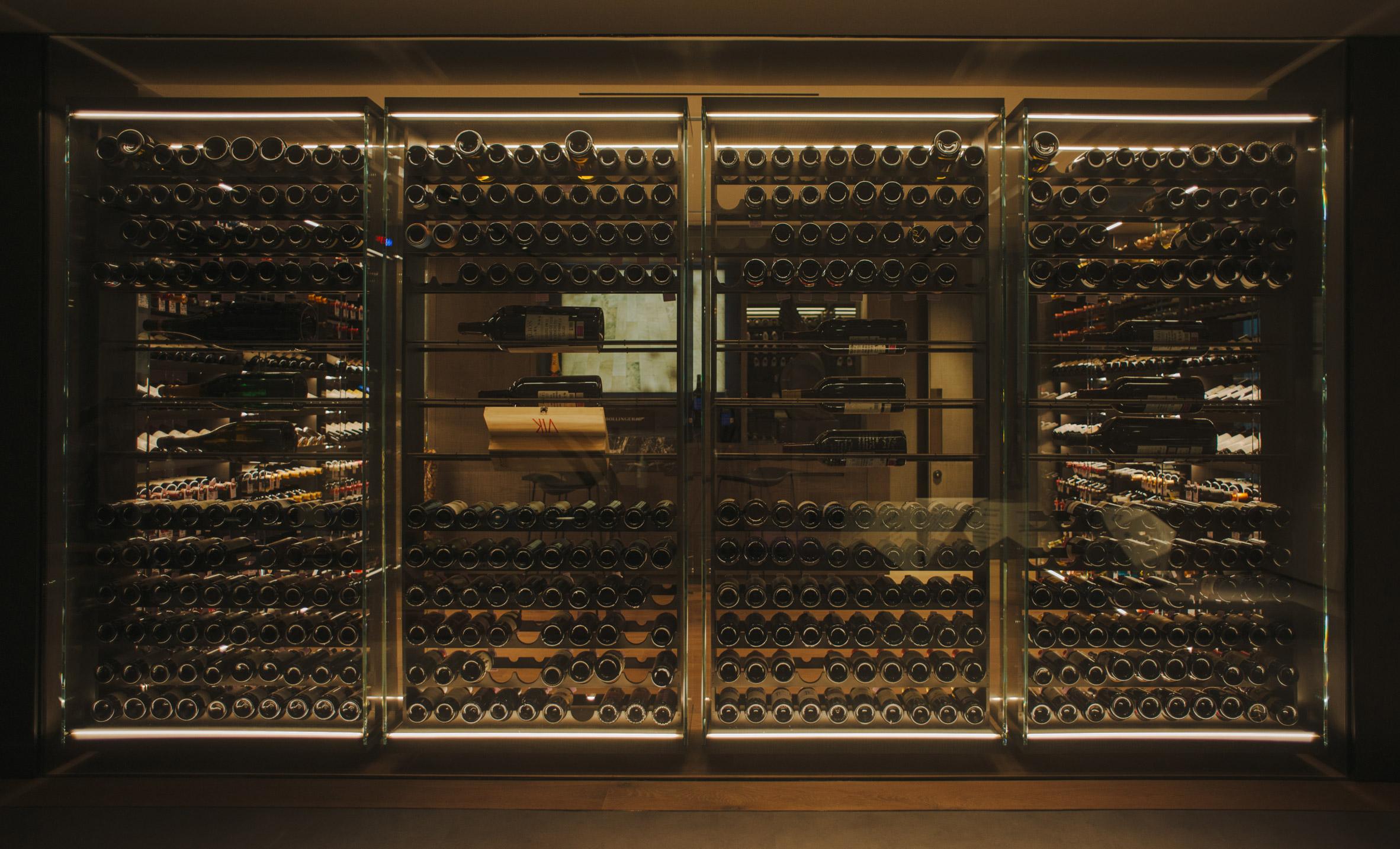 AdH House wine cellar