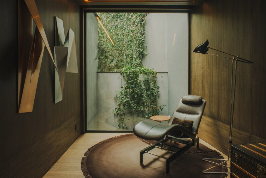 AdH House wood-clad office by Simon Hamui