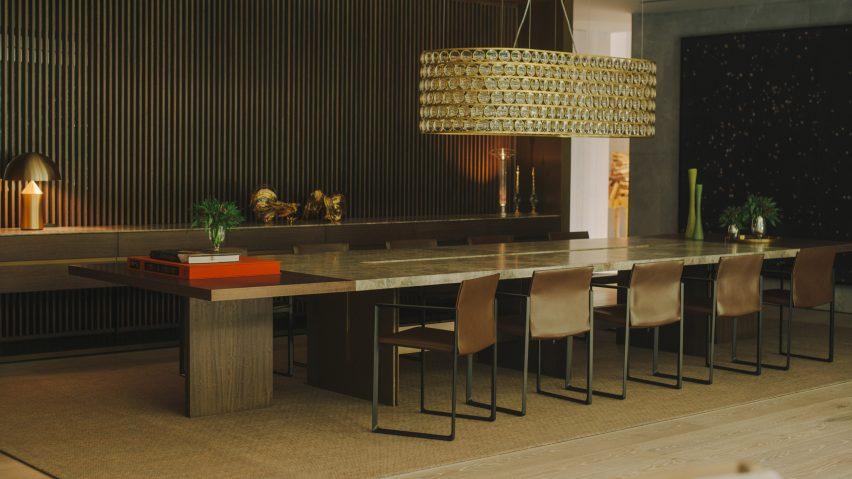 AdH House dining room by Simon Hamui