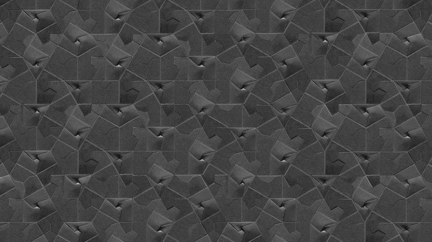 Giovanni Barbieri's Squar(e) tiles in grey