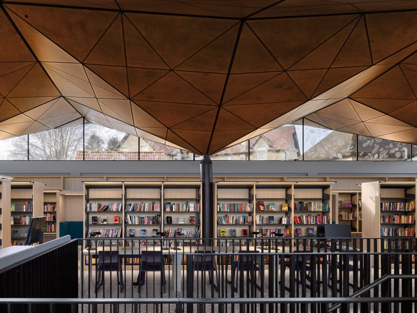 Library in the UK