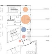 Substans restaurant in Aarhus by Krøyer & Gatten floor plan