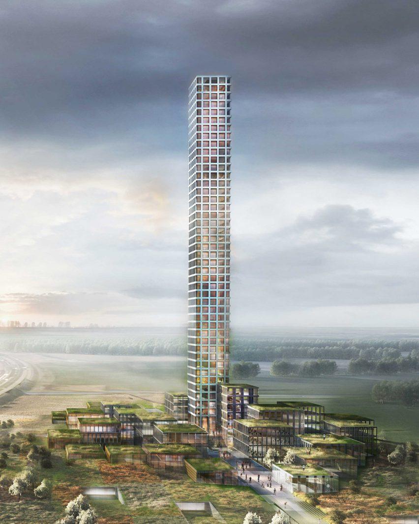 Bestseller Tower, Brande, Denmark, by Dorte Mandrup