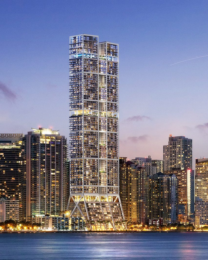 The Towers, Miami, USA, by Foster + Partners