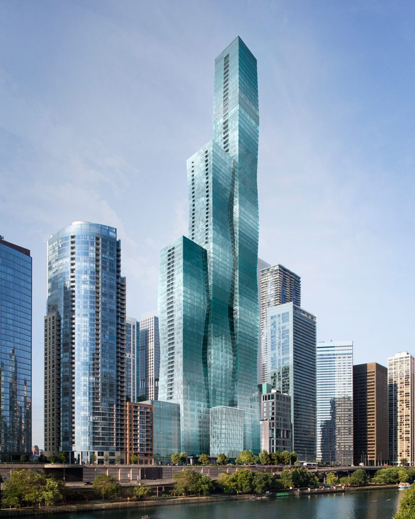 Vista Tower, Chicago, USA, by Studio Gang