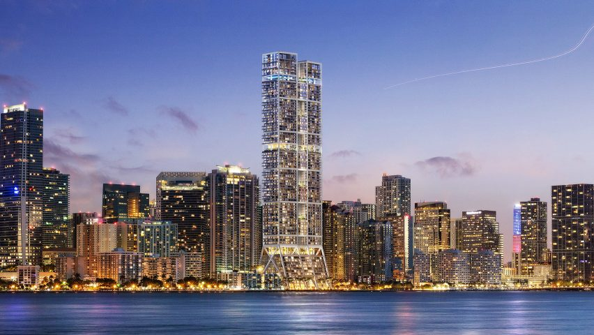 The Towers in Miami by Foster + Partners