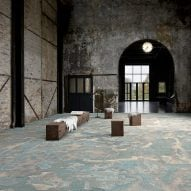 Terra textile flooring by Adrian Alexander for Talk Carpet
