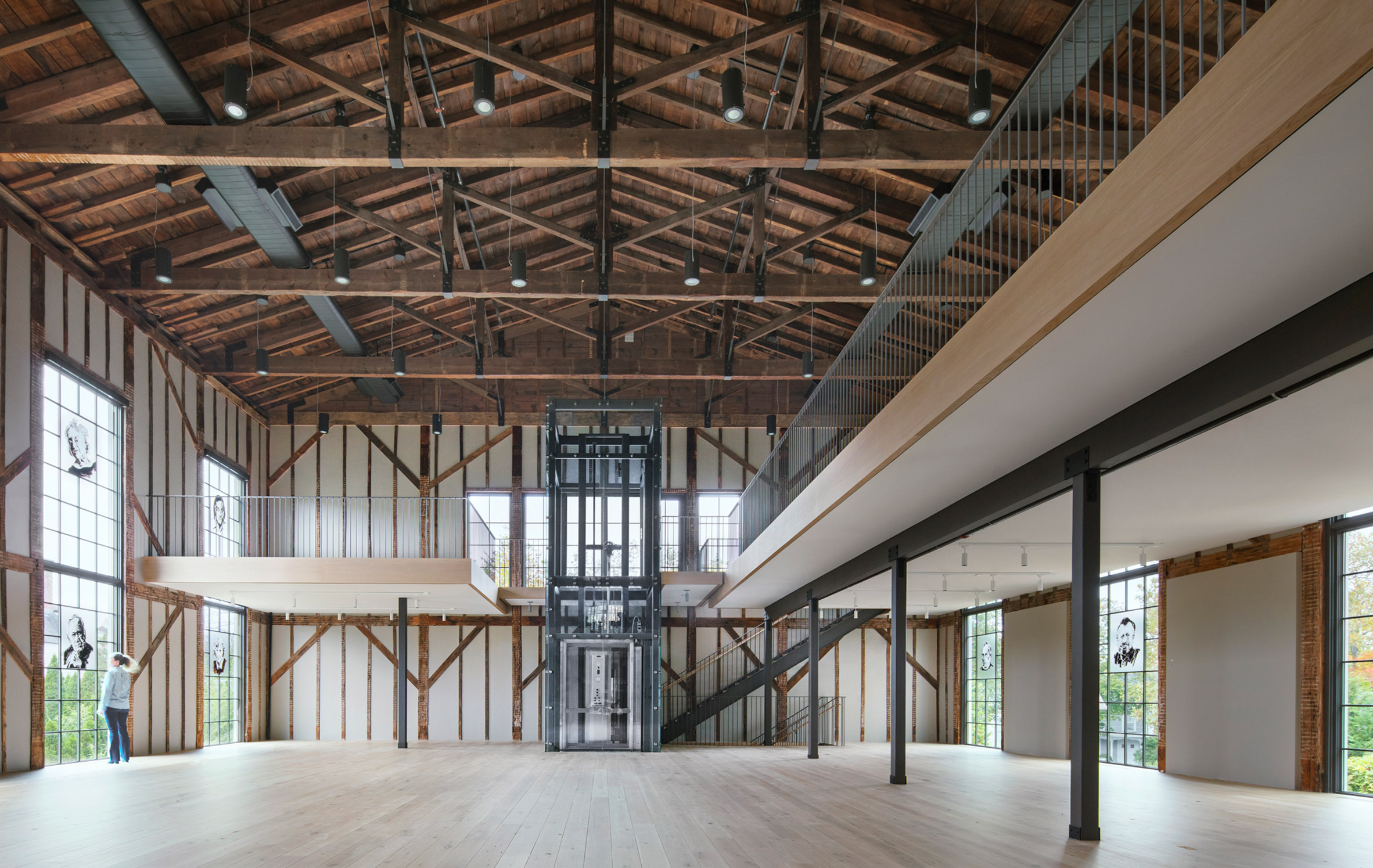 Interior of church conversion by Skolnick Architecture and Design Partnership