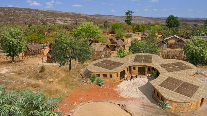3D-printed school in Madagascar
