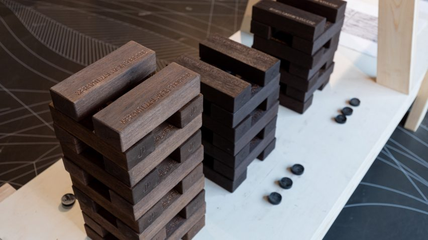 Carbon Print installation by Joseph Pipal from Conversations about Climate Change exhibition by the TTF