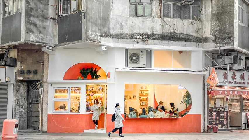 Exterior of Today is Long cafe by Studio Etain Ho and Absence from Island