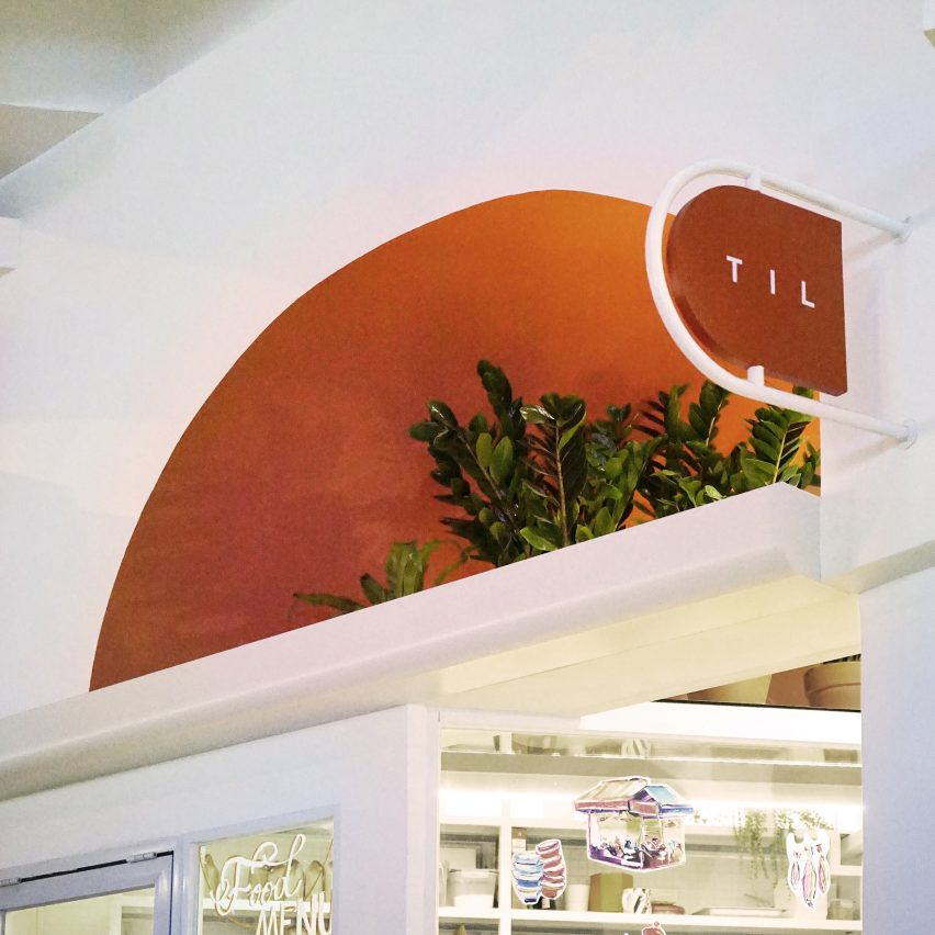 Recessed semi-circular window from Hong Kong cafe interior by Studio Etain Ho and Absence from Island