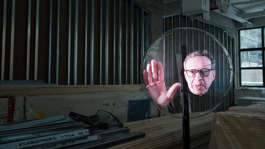 Tom Dixon hologram