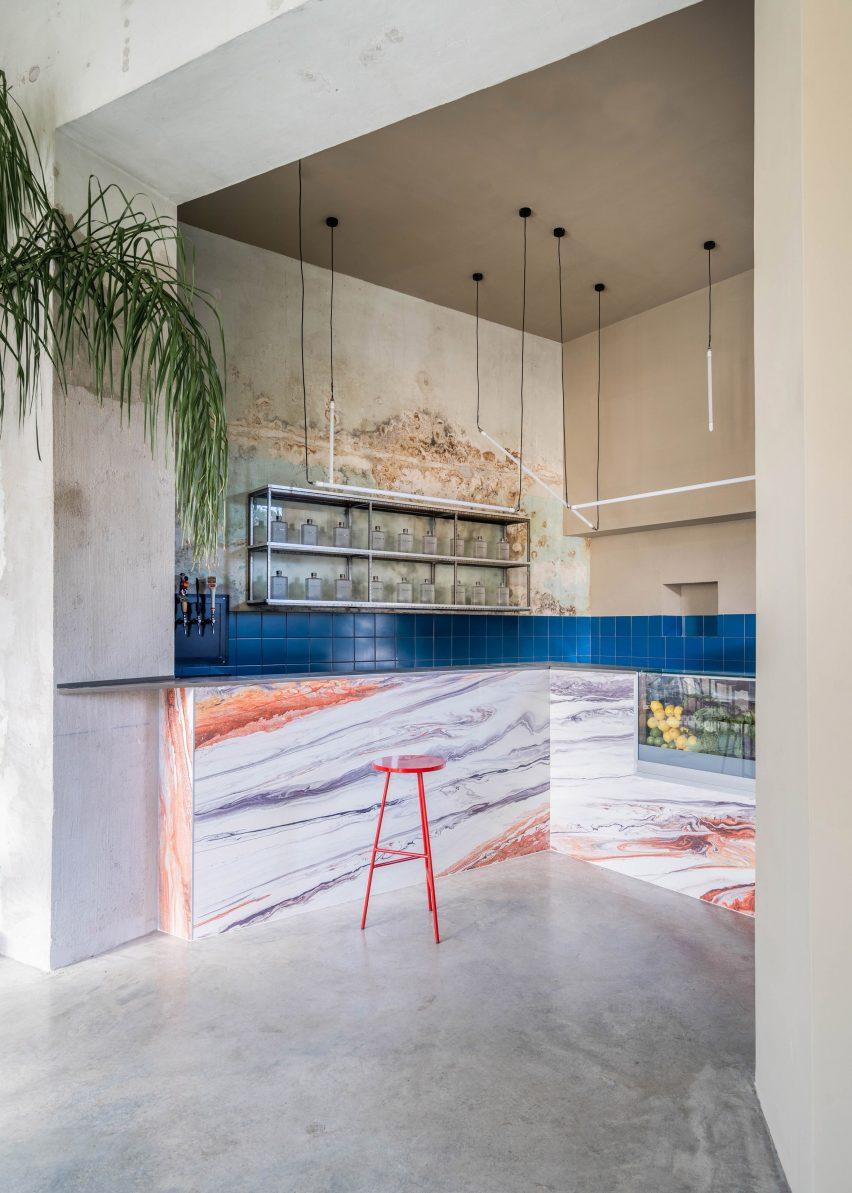 Bar in Tre De Tutto by Studio Tamat