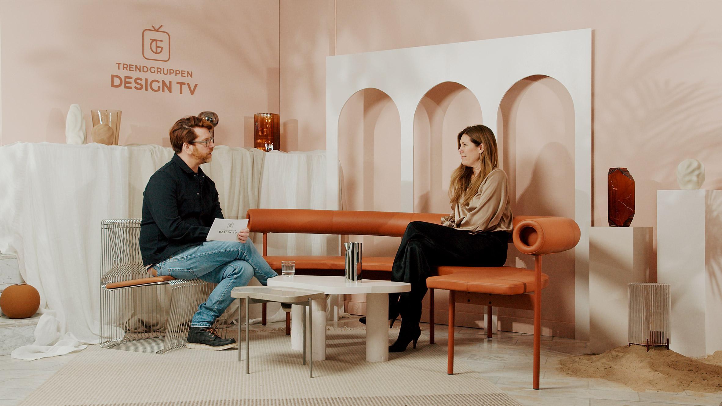 Karin Sköldberg is interviewed by Stefan Nilsson
