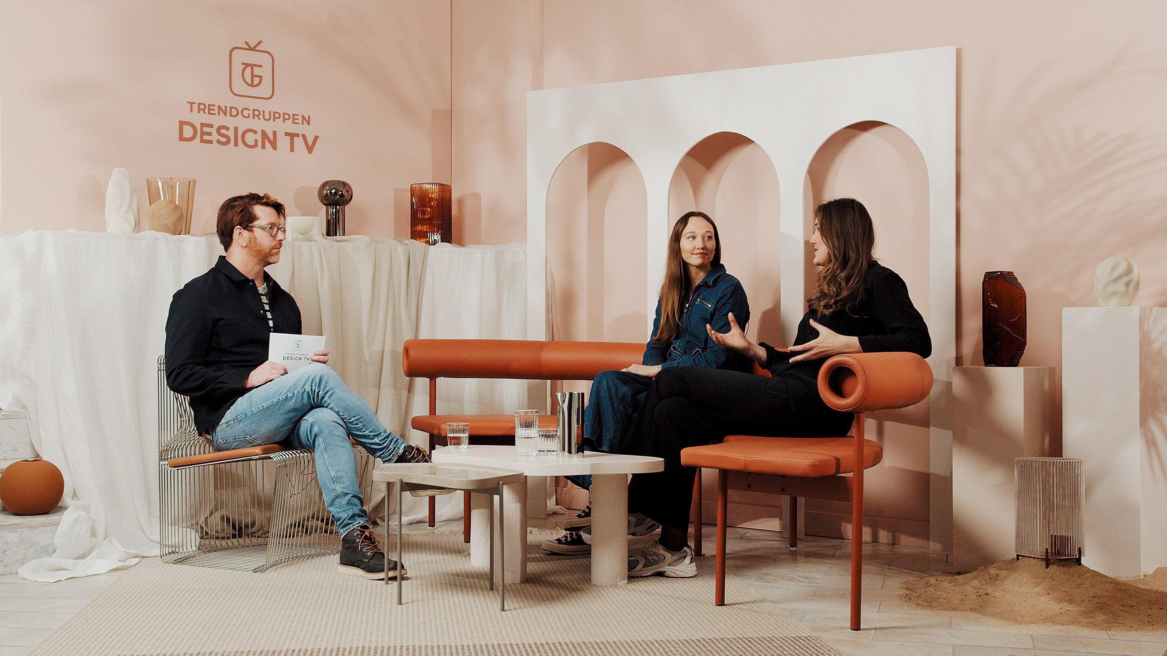 ASKA architects being interviewed by Stefan Nilsson