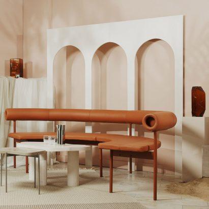 Mediterranean-inspired set design by ASKA