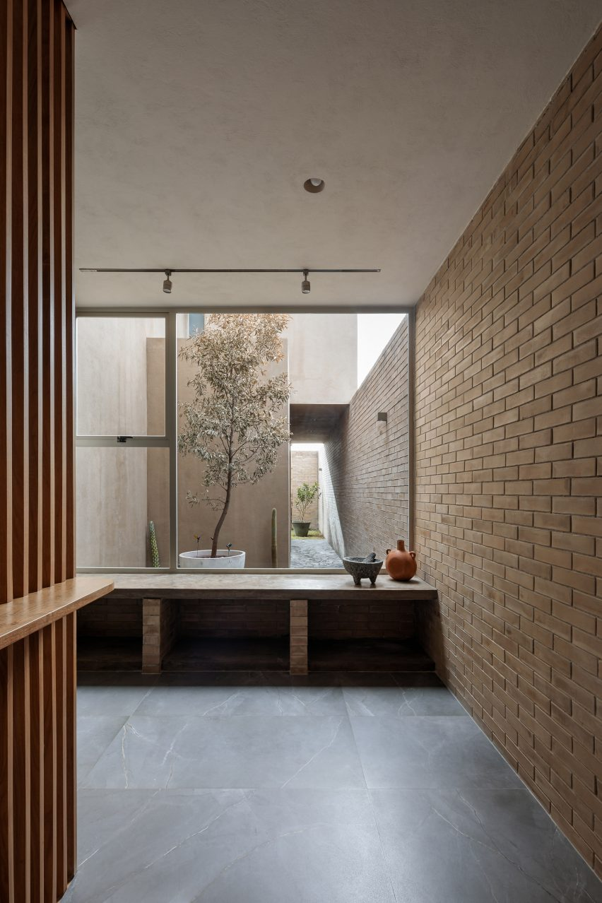 Arquitectura interior de interiores de viviendas en México