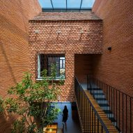 2HIEN house in Vietnam built using tiles salvaged from the owners' previous home