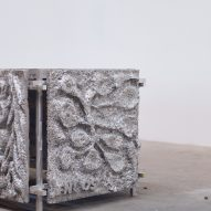 Detail of 300kg Beauty Bath by Frederik Nystrup-Larsen and Oliver Sundqvist in The Mindcraft Project exhibition