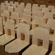 60 Chairs lined up