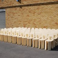 Lamb's 60 Chairs photographed together
