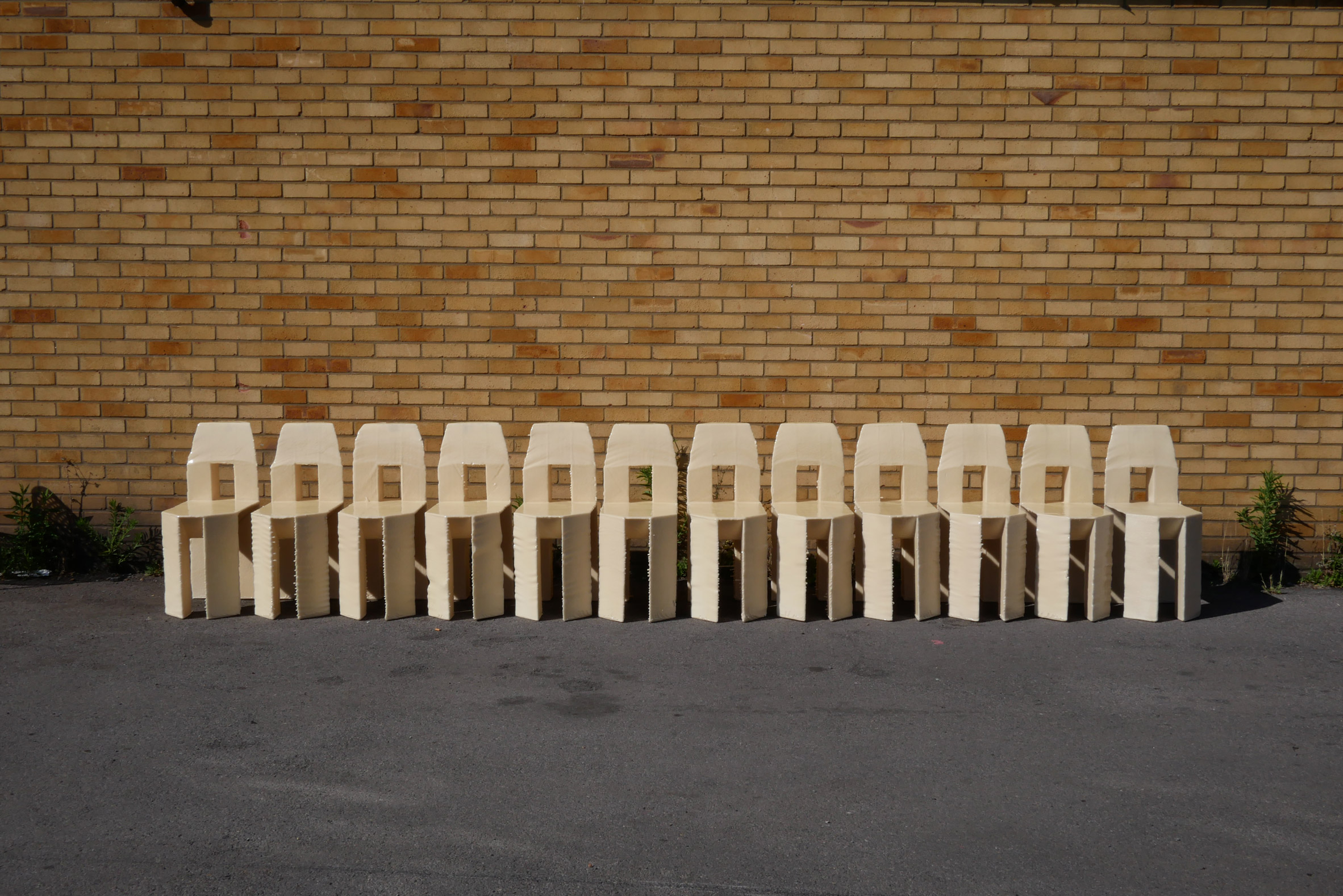 A collection of Lamb's chairs